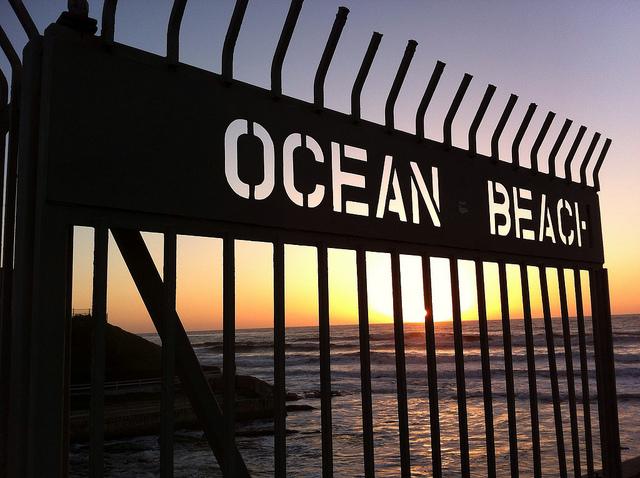 """""""Ocean Beach, San Diego, CA"""" image by Flickr user James Gubera"""