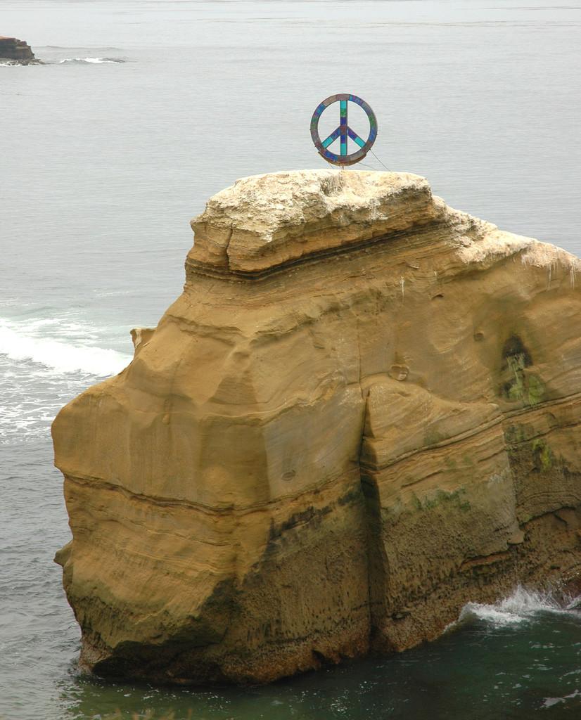"""Peace Rock"" image by Flickr user Suzi Duke"